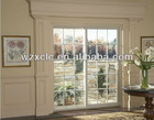 Double glazed aluminum sliding french doors