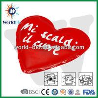 Moist heat heating pad