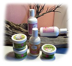 Pure caribbean spa bath and body products