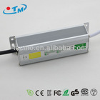 12V 30W Constant Voltage Waterproof LED Driver With CE RoHS