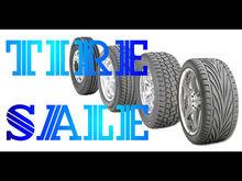 Bn1533 Car Black Tire Sale Shock Absorber Tough Rubber Vehicle Care Banner Sign