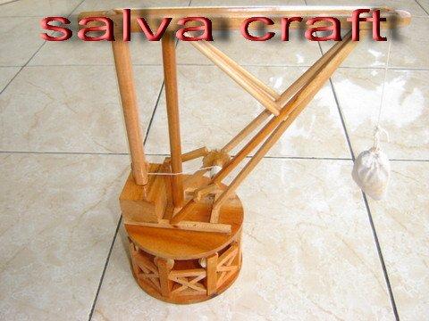 Wooden Model Cranes Davinci Crane Wooden