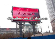 P10 full color price list led screen