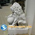 alta qualidade outdoor leões de mármore estátua