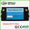 solar energy battery 12v 120ah with deep cycle life