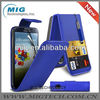 Blue Flip wallet case,for samsung galaxy s4 i9500 case