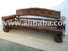 Giant Bamboo Sofa