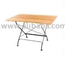 Savannah Rectangular Folding Table,Picnic Table
