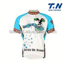 mens radio shack club cycling jersey