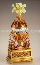 Faberge Egg: Imperial Pine Cone Musical Egg