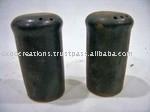 Antique Ceramic Salt Box