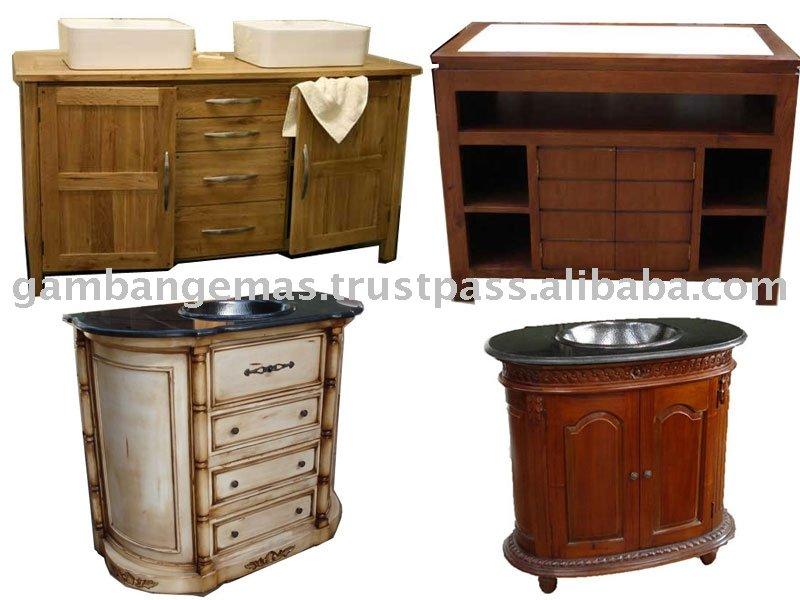 wooden sink cabinet buy sink cabinet bathroom cabinet bathroom furniture product on alibaba