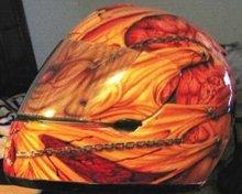 Shoei Rf-900 Motorcycle Helmet Custom Airbrush