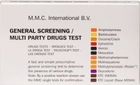 General Screening / Multi Party Drugs Test