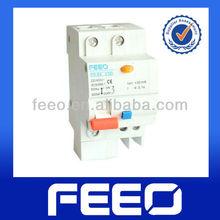 Electrical type din rail 1p circuit breaker 50ma RCBO
