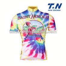 radio shack team cycling jersey