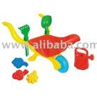 Wheelbarrow With Accessories Toys
