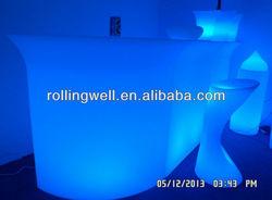 cash bar counter/led bar sets/illuminated glowing furniture