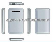 portable power bank white charger 5000mAh 5500maH
