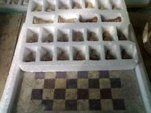 mármol juego de ajedrez
