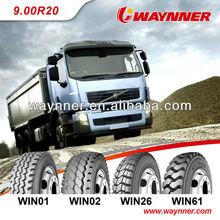Qingdao 900R20 truck tyre brands list