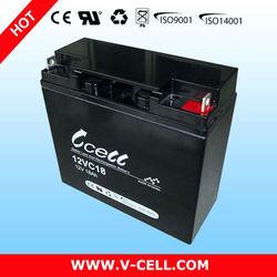 18Ah 12V dry batteries for ups