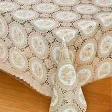 vinyl tablecloth linen,square easter tablecloth