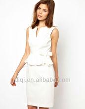 Sexy slim version deep v-neck short sleeve formal ladies dress ,evening dress,womens clothing,apparels
