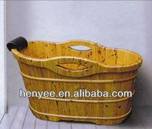 wooden sauna spa tub,indoor wood bathtub,wooden tub