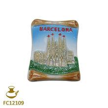 FC12109 ceramic spain souvenir fridge magnet