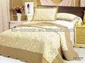 luxo acolchoado bordado colcha conjuntos