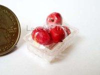 Miniature Food pack: Fruit: Red Apple Toys