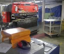Sheet metal parts & enclosures, Powder Coating