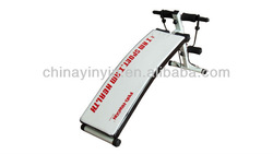 Fold up sit up bench ab product