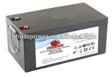 12v solar panel internal battery12V250AH