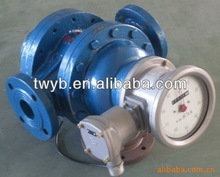 Rotor flow meter for oil products