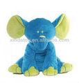 noms de bébé en peluche éléphant bleu