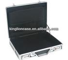 handle black aluminum briefcase KL-C421