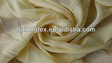 [imitated silk chiffon dresses fabric factory] 75D pleated poly chiffon crepe grey fabric/ crepe chiffon pleated gray fabric