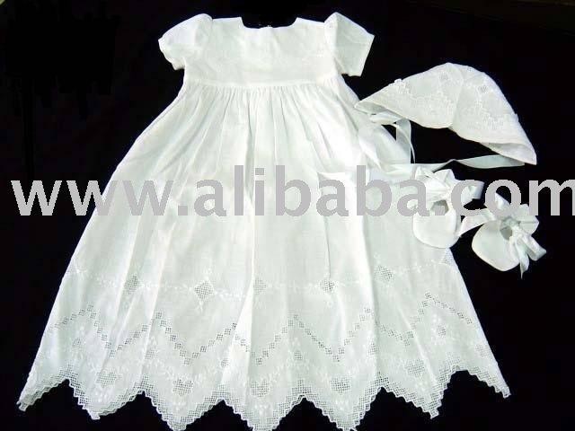 Bordado a mano de los vestidos para bebés-Vestidos para bebes ...