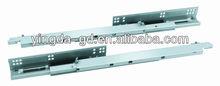 Adjustable screw undermount soft closing hidden telescopic drawer guide rail YD-HG308