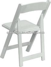 white garden wedding chairs