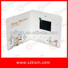 2.4 inch Advertising video cards,video book,LCD screen video greeting card for business gifts