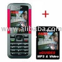 [super deal] Mobile Phone MP3 + Micro SD Card Paris eGuides
