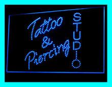 100065B Tattoo Stapling Love Nautical Star Jewelry Dice Pop Devil LED Light Sign