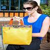 Patchwork snake skin handle young women handbags