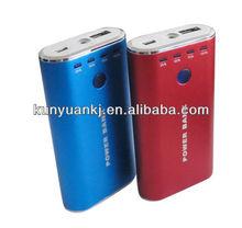 KB02 5V 1A 4400mAh Power Bank blue/red/silver/black