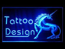 100088B Tattoo Eagle Nautical Star Airbrush Stapling Studio Beauty LED Light Sign