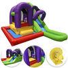 inflatable bouncer combo with wading splash pool