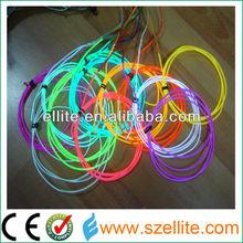2013 New generation decorative multi color 2.3mm el neon light wire